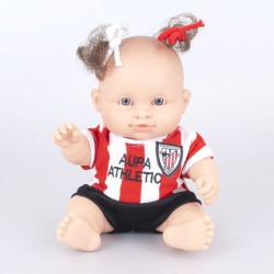 Muñeca bebé Athletic club de Bilbao