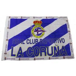 Bandera Real Club Deportivo de la Coruña