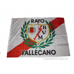Bandera del Rayo Vallecano de Madrid