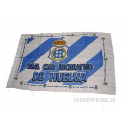 Bandera oficial Real Club Recreativo de Huelva