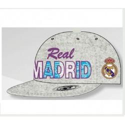 Gorra oficial plana-rap, Real Madrid CF