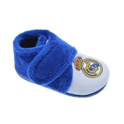 Zapatillas de estar por casa bebe oficial Real Madrid CF