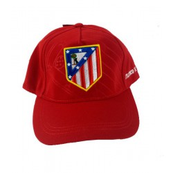 Gorra Junior  Atlético de Madrid roja
