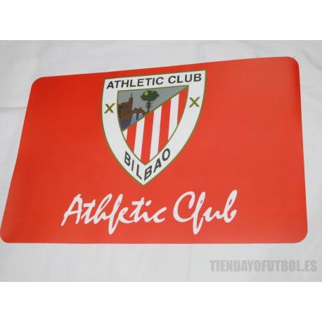 Mantel individual Athletic club de Bilbao plastico