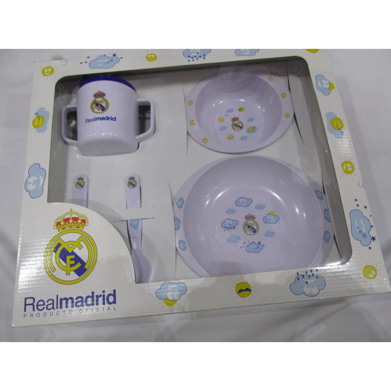 Vajilla infantil real bebe su primera vajilla del real for Outlet vajillas madrid