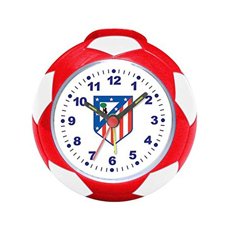 Reloj despertador  Balón Atlético de Madrid