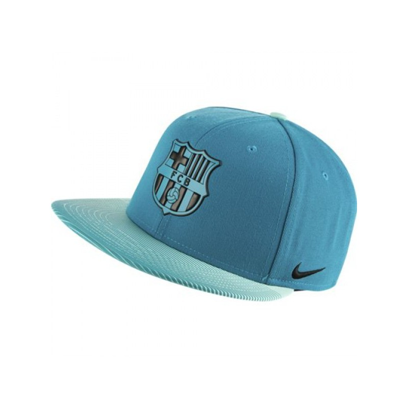 Gorra plana FC Barcelona verde mar Nike 2016 17. Gorra barça. Loading zoom 1655d4783be