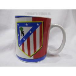 Taza Mug Club Atlético de Madrid Roja y blanca