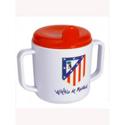 Taza oficial asas para bebe Atlético de Madrid 864b8326c37ce
