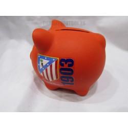Hucha Cerdito  pequeño  Atletico de Madrid