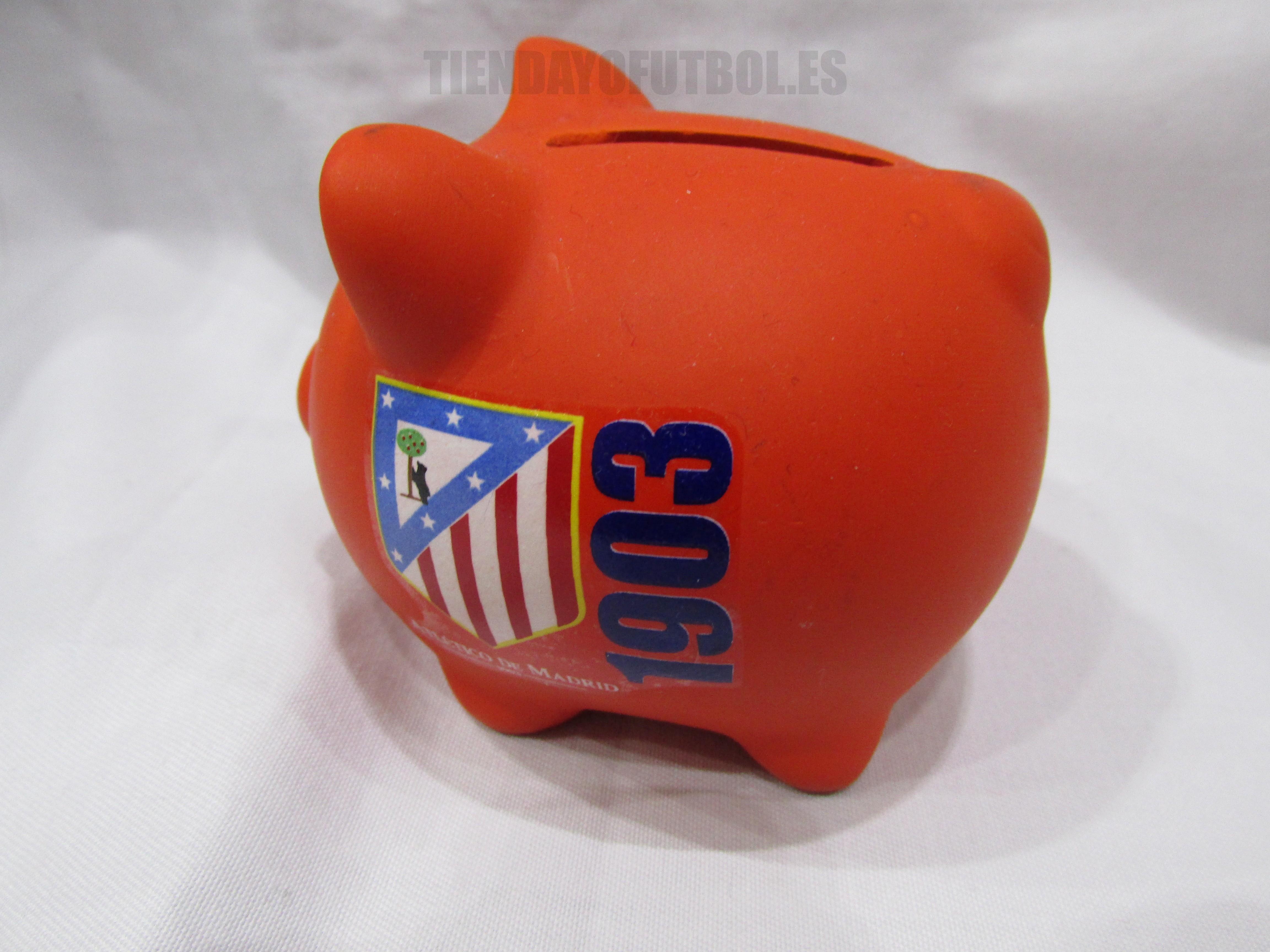 hucha cerdo pequeño Atletico de Madrid  c11f84b52e716
