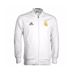 Sudadera blanca oficial Real Madrid CF Adidas a56b49032fadf