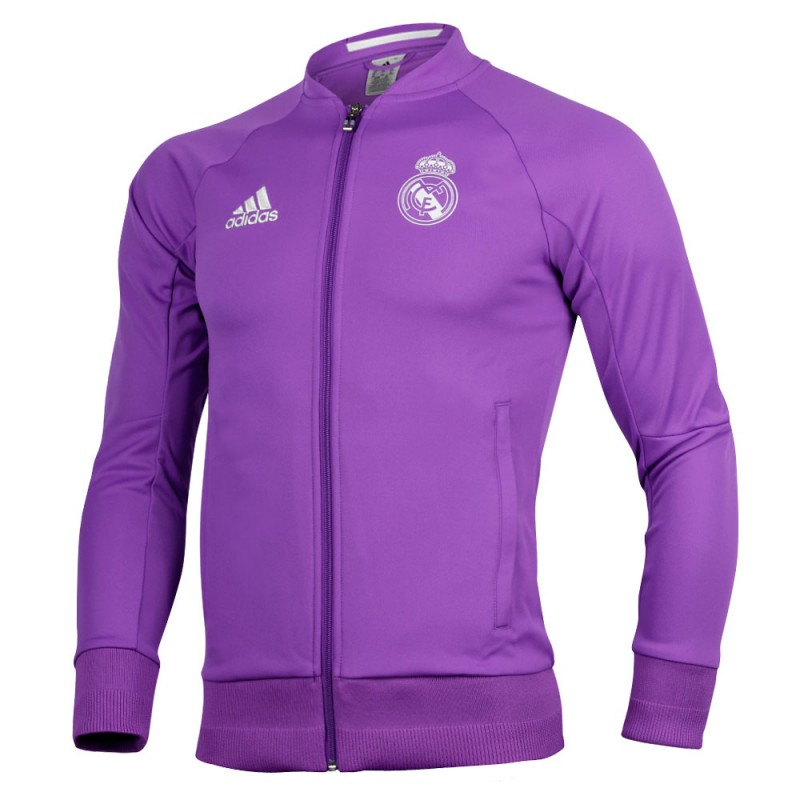 Sudadera morada Real Madrid CF Adidas. Loading zoom de77dc59ae89c