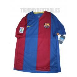 Camiseta 1ª 2006/07 FC Barcelona Nike