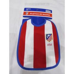 Baberos  Atlético de Madrid rayado
