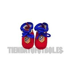 Patucos bebe rojos Atletico de Madrid