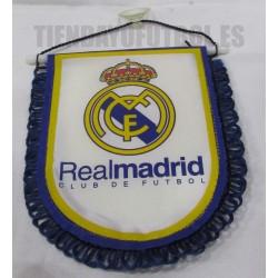 Banderín Oficial pequeño Blanco Real Madrid CF 4f601a3a1a266