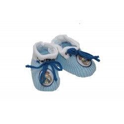 Patucos azules oficial del Real Madrid CF