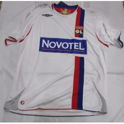 Camiseta Olympique Lyonnais  Blanca UMBRO