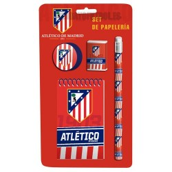"Set Papeleria Atlético Madrid""escolar"""