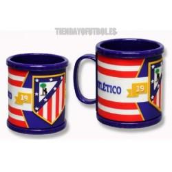 Taza Rubber Atlético de Madrid