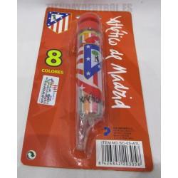 8 colores  pinturas Atlético de Madrid