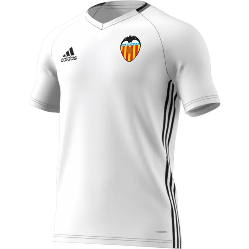 camiseta blanca adidas valencia