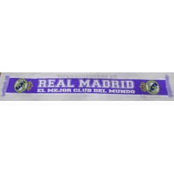 "Real Madrid bufanda ""morada"""