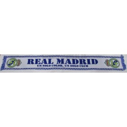 "Bufanda Real Madrid ""un solo color,un solo club"""