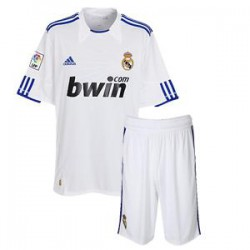 Kit 1ª Jr. 2010/11 Real Madrid CF ADIDAS