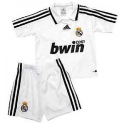 Kit 1ª Jr. 2008/09 Real Madrid CF ADIDAS