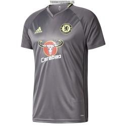 Camiseta Entren. 2016/17 Gris Chelsea Adidas