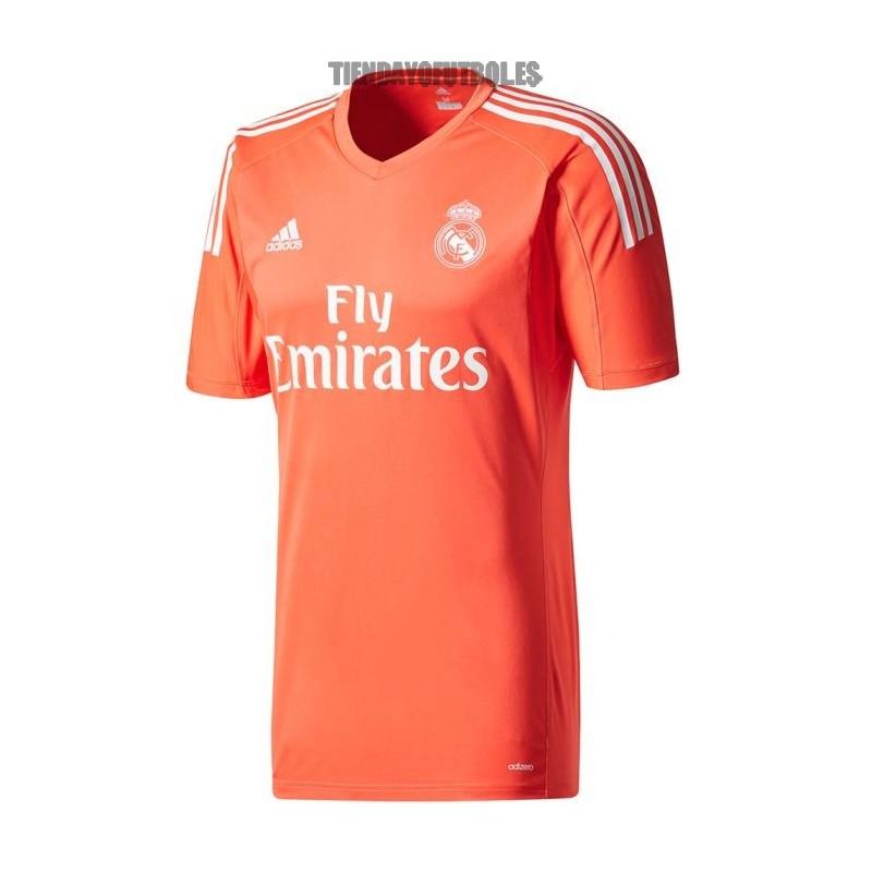 Camiseta 2ª portero 2017 18 Real Madrid CF naranja. Loading zoom e36c3aeb33aae