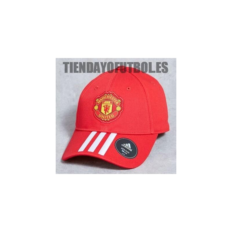 Gorra roja Manchester United Adidas. Loading zoom 3528e229045