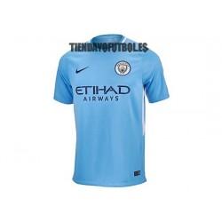 Camiseta 1º Manchester City 2017/18 NIKE