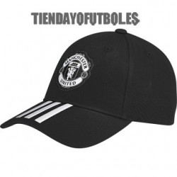 Gorra negra  Manchester United Adidas