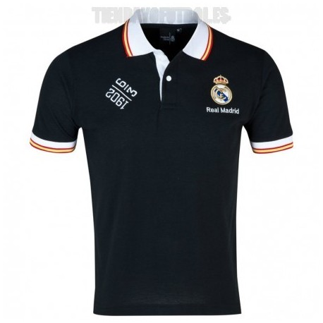 Polo negro Real Madrid