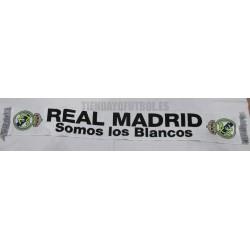 """Bufanda Real Madrid CF """" SOMOS LOS BLANCOS """""""