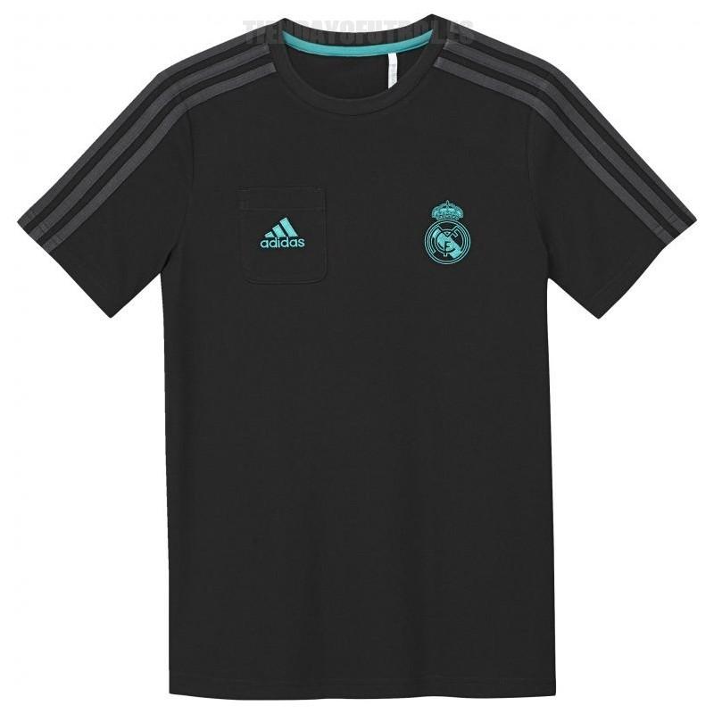 0ce189a83f370 Camiseta oficial negra Junior 2016 17 Real Madrid CF Adidas. Loading zoom
