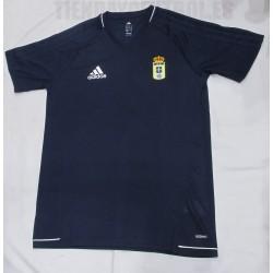 Camiseta oficial  Entrenamient  Real Oviedo  2017/18 Adidas