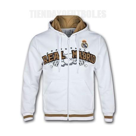 diseño atemporal 03ba9 aaee8 Niño Sudadera oficial Real Madrid | Sudadera R.Madrid blanca Junio |  Sudadera madridista