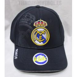 Gorra Oficial Real Madrid azul Junior