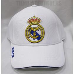 Gorra ¨OFICIAL¨ Real Madrid  , blanca 2017/18