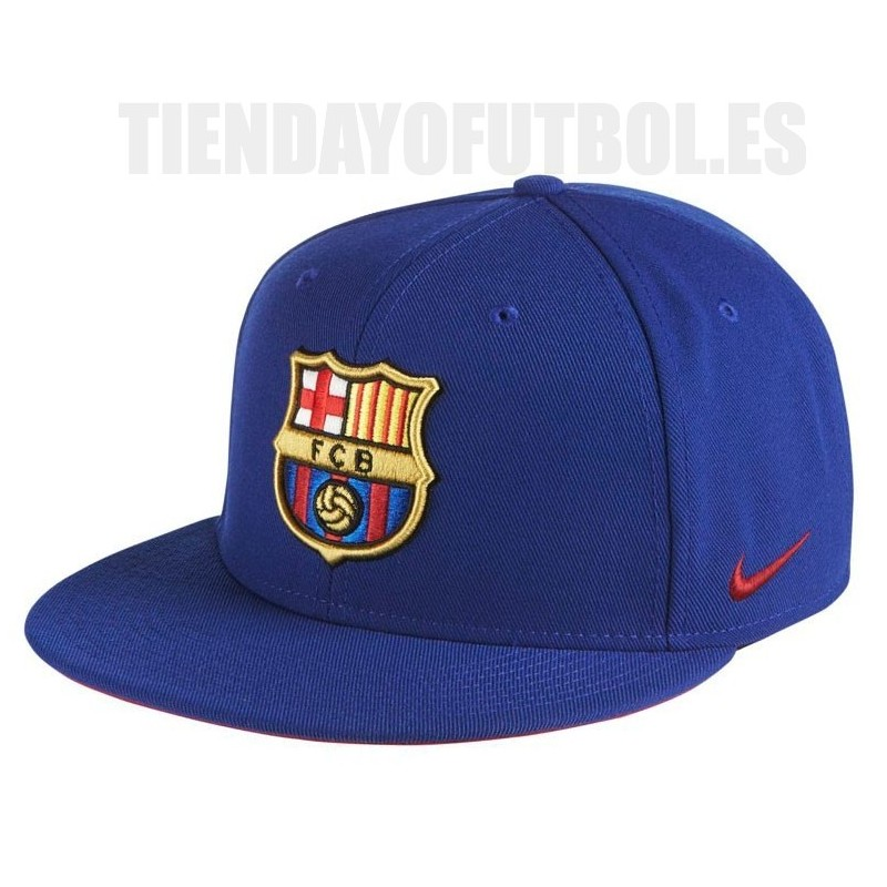 Gorra plana Azul 2017 18 FC Barcelona Nike f07f2200bd4