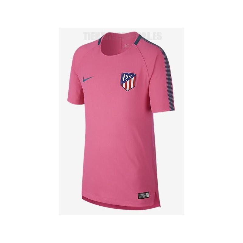 Camiseta Entrenamiento rosa Atlético de Madrid 2017 18 Nike 89a0222fd4dd9