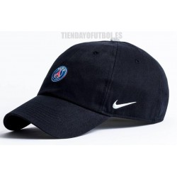 Gorra negra Paris Saint-Germain Nike