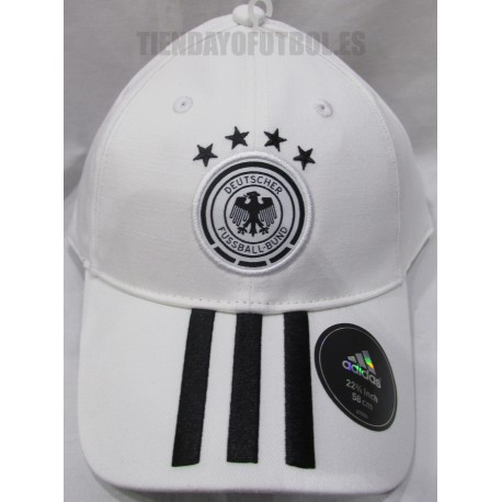 Gorra de Alemania blanca Adidas