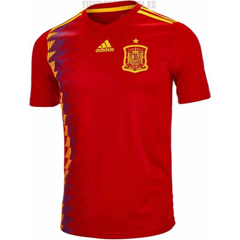 Mundial 2018 camiseta niño España - Selección nueva camiseta mundial - Camiseta Selección España ...
