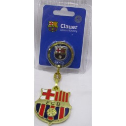 Llavero escudo mas pin oficial FC Barcelona
