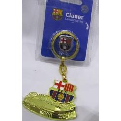 Llavero campo mas pin oficial FC Barcelona